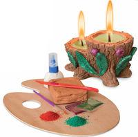 Мастерская лепки. Глиняные свечи, серия производителя Фантазер
