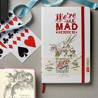 Alice`s Adventures in Wonderland, серия производителя Moleskine